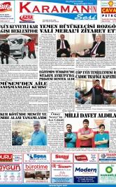 www.kgrt.net - 16.11.2018 Manşeti