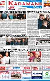 www.kgrt.net - 19.11.2018 Manşeti