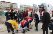 Hava Ambulansı Bu Defa Minik Zeynep İçin Havalandı