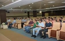 KMÜ'de İşçi Kadrosuna Geçen Güvenlikçilere Sosyal Hakları Anlatıldı