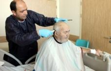 Devlet Hastanesi'nden Ücretsiz Berber Hizmeti
