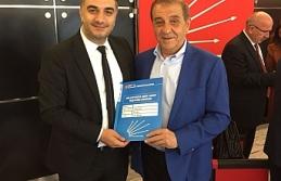 Ahmet Ertuğrul, Milletvekili Aday Adaylığı Başvurusunu Yaptı
