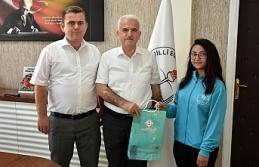 Türkiye 3'üncüsü Başarılı Judocudan Kuntoğlu'na Ziyaret