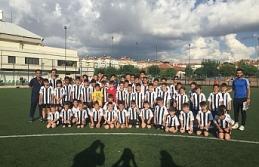 Beşiktaş Futbol Okulu İlk Antrenmanını Yaptı