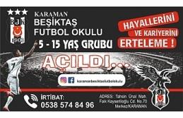 Karaman'da Beşiktaş Futbol Okulu Kuruldu