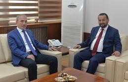 AK Parti Grup Başkanı Naci Bostancı'dan Rektör Akgül'e Ziyaret