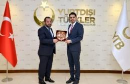 Rektör Akgül'den Akrabalar Topluluk Başkanına Ziyaret