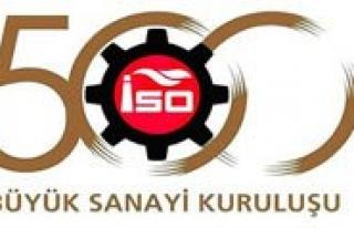 Iso'nun Ikinci 500 Büyük Sanayi Kurulusu Arasina...