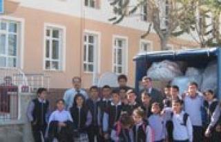 Hoca Ahmet Yesevi Ilkögretim Okulu'ndan Anlamli...