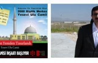 Yesevi Camisi Insaati Basliyor