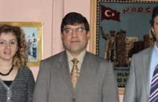 Milli Egitim Müdürü Aksoy'dan Ziyaret