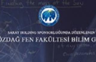 Kamil Özdag Fen Fakültesinde Bilim Günleri