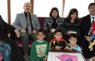Milli Egitim Müdürü Aksoy Sevgi Evlerini Gezdi