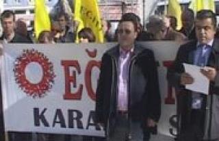 "KESK: ""Ey Akp, 19 Mayis'a Dokunamazsin"""