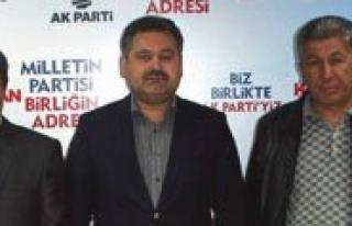 AK Parti`de Iki Ilçe Baskani Degisti
