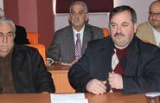 Kent Konseyi Baskanligina Ibrahim Aköz Seçildi