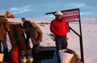 Incesu Magarasi'nin Aydinlatma Çalismalari Basliyor