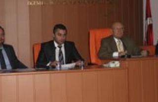 Belediye Meclisi Ilk Toplantisini Yapti
