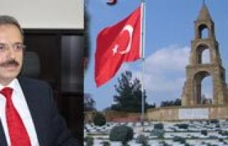 """KMÜ Rektörü Prof. Dr. Sabri Gökmen: """"Çanakkale..."""