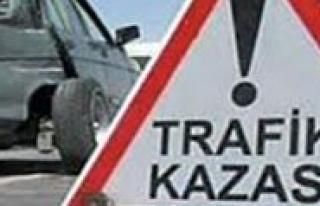 Trafik Kazasinda 3 Kisi Yaralandi