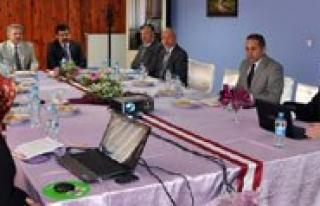 MEVKA Yönetim Kurulu Karaman`da Toplandi