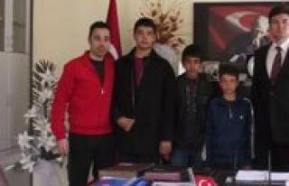 Güresçilerden Il Müdürü Aydogdu'ya Ziyaret