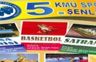KMÜ 5. Bahar Söleni Spor Turnuvalari Basliyor