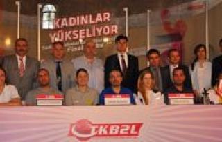 Türkiye Kadinlar Basketbol 2. Ligi Final Grubu Maçlari...