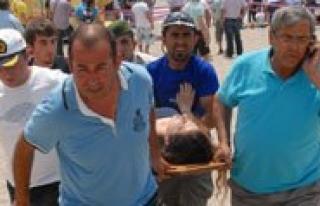 Üniversite Ögrencilerini Tasiyan Otobüs Plaja Uçtu...