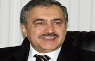Orman ve Su Isleri Bakani Prof. Dr. Veysel Eroglu...