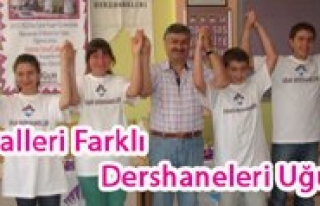 Hayalleri Farkli Dershaneleri Ugur'du