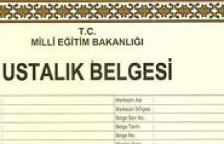 Kalfalik-Ustalik Sinav Basvurulari 30 Temmuz'da...