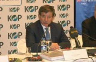 KOP Bölgesi Koordinasyon Toplantisina Bakan Davutoglu...