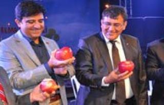 Akçasehir Beldesinde Elma Festivali Yapildi