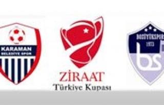Karaman Belediye Spor-Bozüyük Maçi 27 Eylül Persembe...