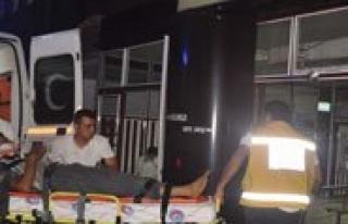 Trafik Kazasinda Bir Kisi Yaralandi