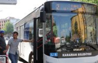Belediye Otobüsleri 6 Gün Ücretsiz