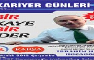 KMÜ'de Kariyer Günlerinin Konugu Ibrahim Hakki...