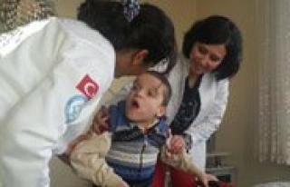 Dünya Engelliler Gününde Hastalarini Unutmadilar...