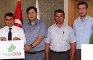 Yesil OSB Projesi'nin Alanlari Belirlendi