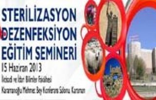 24. DAS Egitim Semineri Karaman'da Düzenleniyor