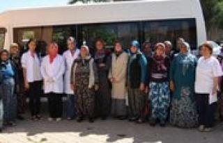 Çoglu Ve Morcali Köylerindeki Bayanlar Ketem'de...