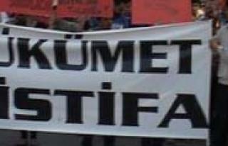 Taksim Gezi Parki Olaylarini Protesto Ettiler