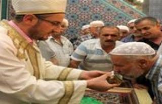 Sakal-i Serif Ziyaretleri Ilimizde 3 Camide Yapilacak