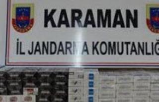 2 Bin 500 Paket Kaçak Sigara Ele Geçirildi