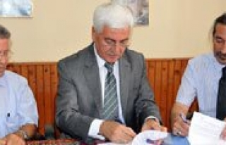 Kinali Köyler Projesi Protokolü Imzalandi