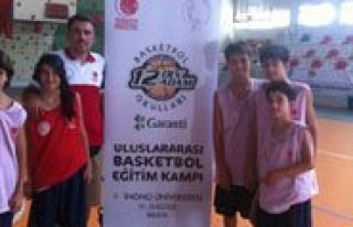 Karaman 12 DABO Uluslar Arasi Basketbol Egitim Kampindan...