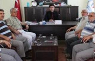 Ensar Vakfi Üyelerinden Aydogdu'ya Ziyaret