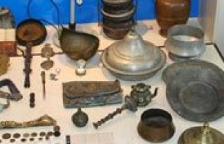Karaman`da Jandarmadan Tarihi Eser Operasyonu