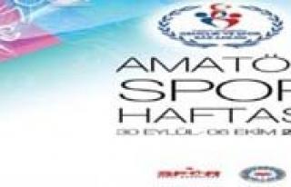 Amatör Spor Haftasi Etkinlikleri  Basliyor